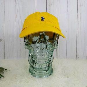 Polo by Ralph Lauren Men's Yellow Baseball Cap